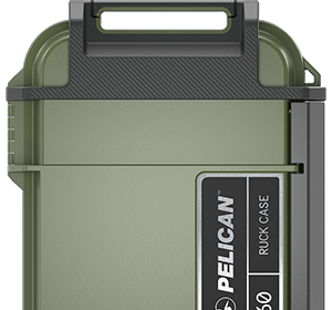 pelican ruck case color green