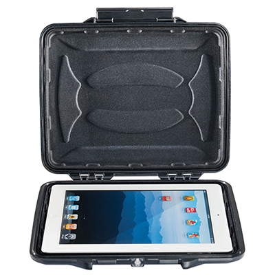 pelican 1065cc hard waterproof ipad tablet case