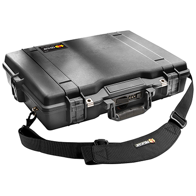pelican 1495 secure strong case laptop briefcase