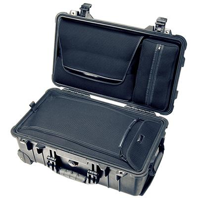 pelican 1510loc hard suitcase travel laptop case