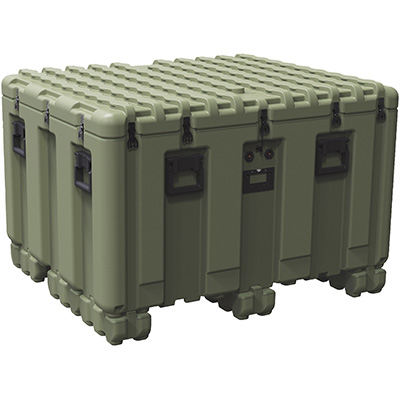 pelican peli products isp IS4537-2303 large plastic shipping pallet box