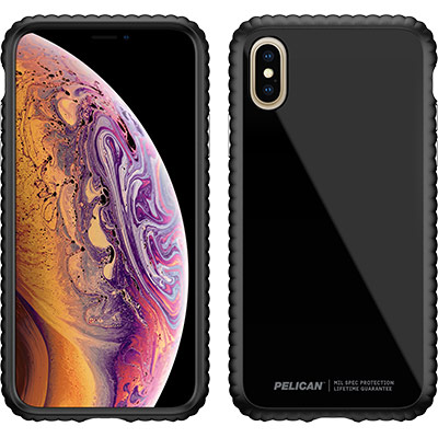 pelican c37160 apple iphone guardian clear phone case