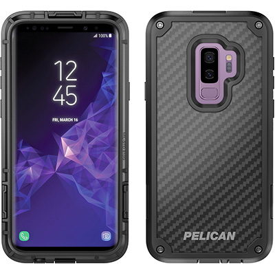 pelican c39140 kevlar phone case galaxy s9 plus