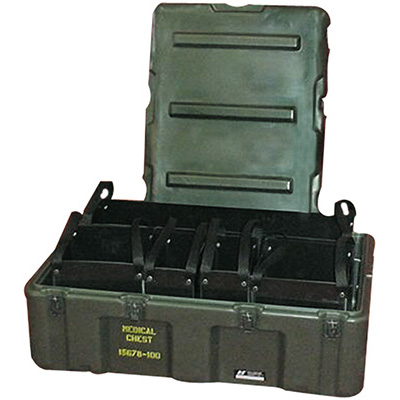 pelican 472 med 5 tote mobile medical supply tote