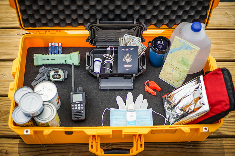 pelican emergency supply kit case