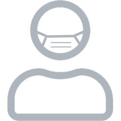 pelican flu mask icon