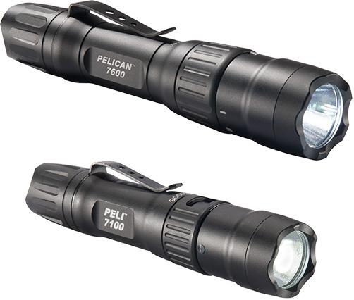peli 7100 7600 tactical torch led