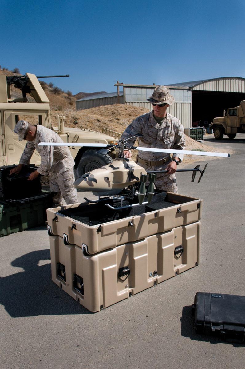 peli drone cases fight against covid