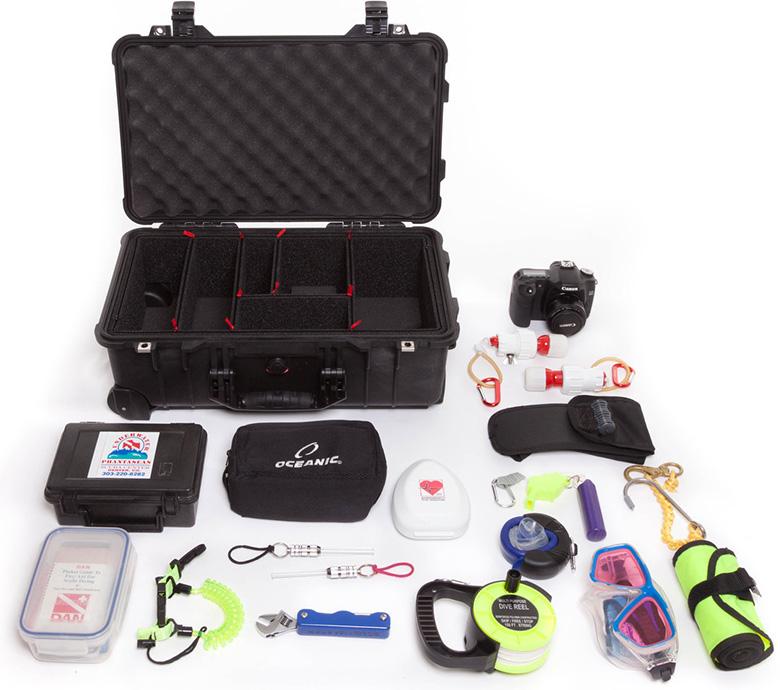 peli products trekpak case divider system