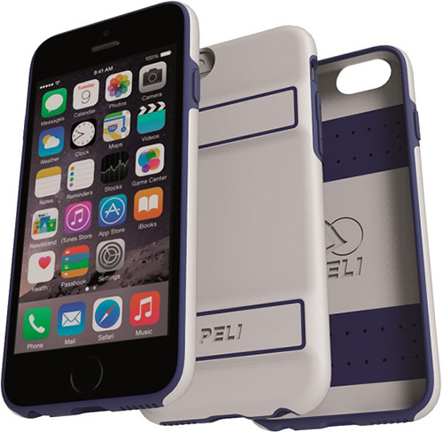 peli products white guardian iphone case