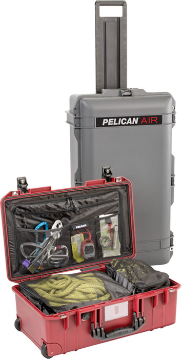pelican air travel luggage carry on caes