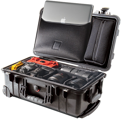 pelican products rolling camera studion protective cases
