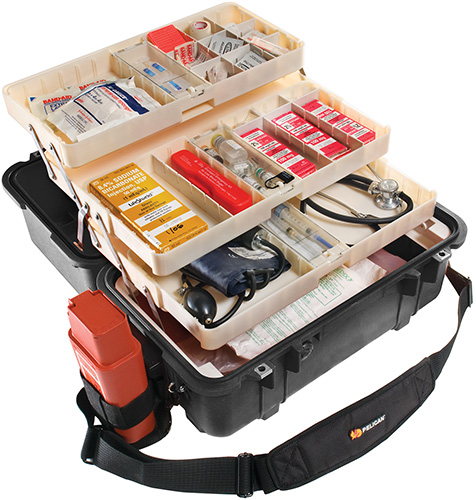 pelican products 1460ems portable medical first aid cases