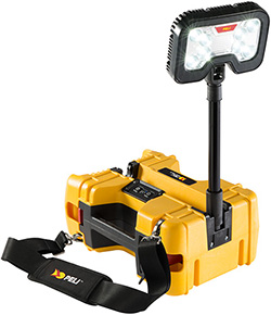 pelican products mobile led emergency work light
