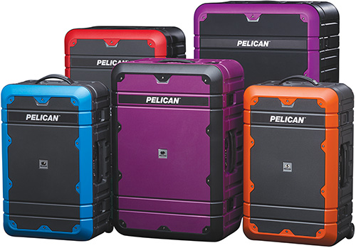 pelican products progear elite luggage suitcases