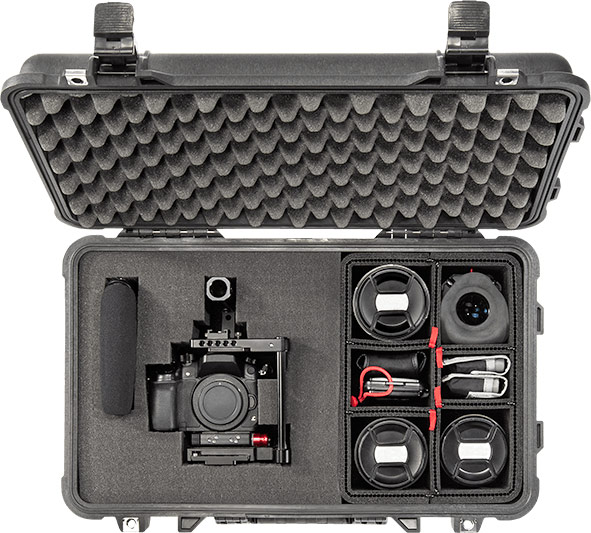 pelican products hybrid case foam trekpak