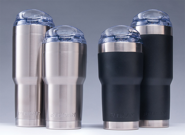 pelican products stainless steel tumbler mug