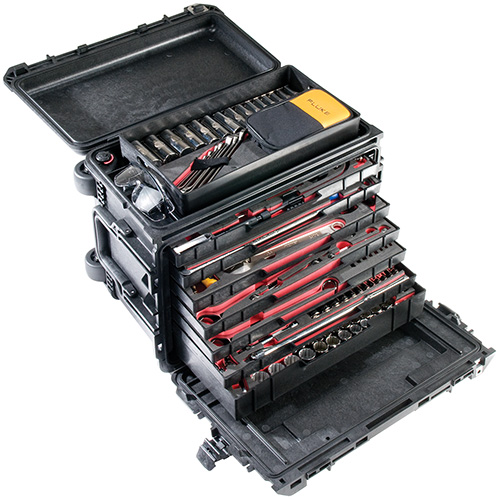 pelican products 0450 military mobile tool box chest