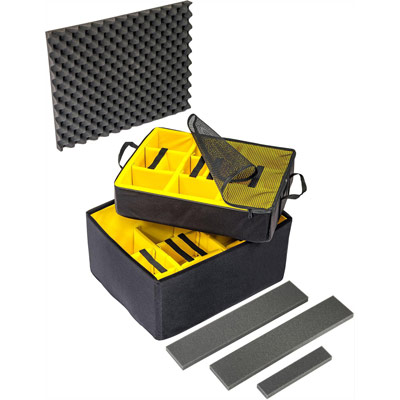 pelican peli cases air 1637airds 1637 buy padded divider insert
