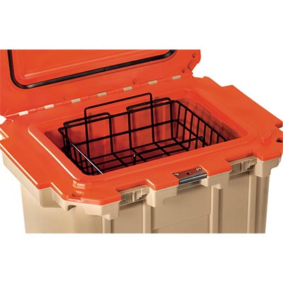pelican peli cooler 30 wb 30qt buy dry rack basket