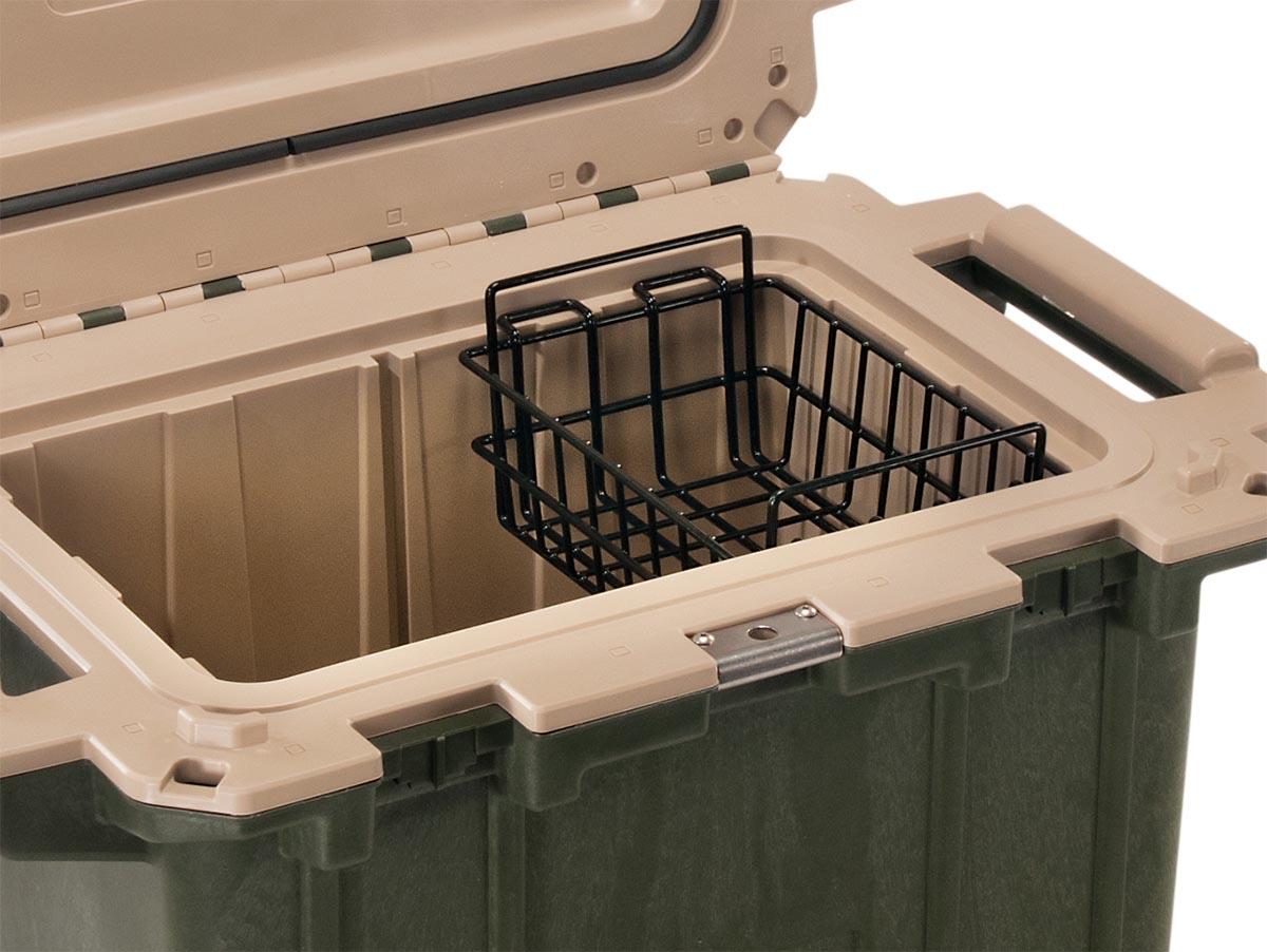 pelican 50 wb 50qt cooler dry rack basket