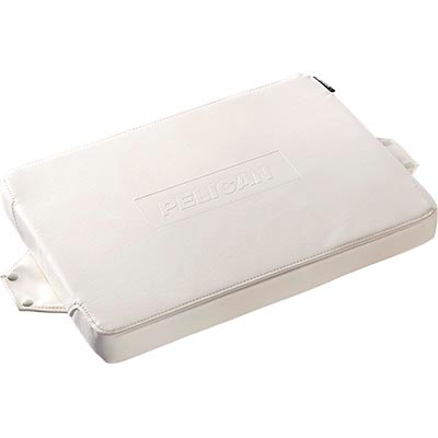 pelican 50qt cooler white seat cushion