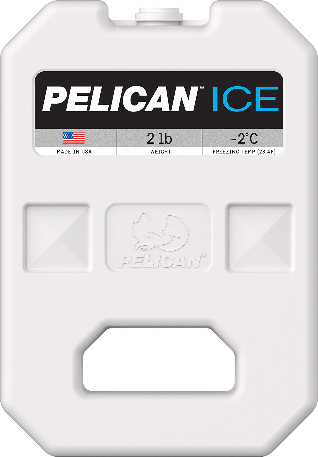 pelican ice pi 2lb cooler freezer ice pack