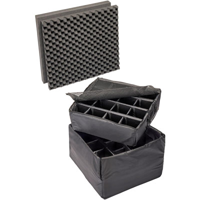 pelican 0345 padded divider case set