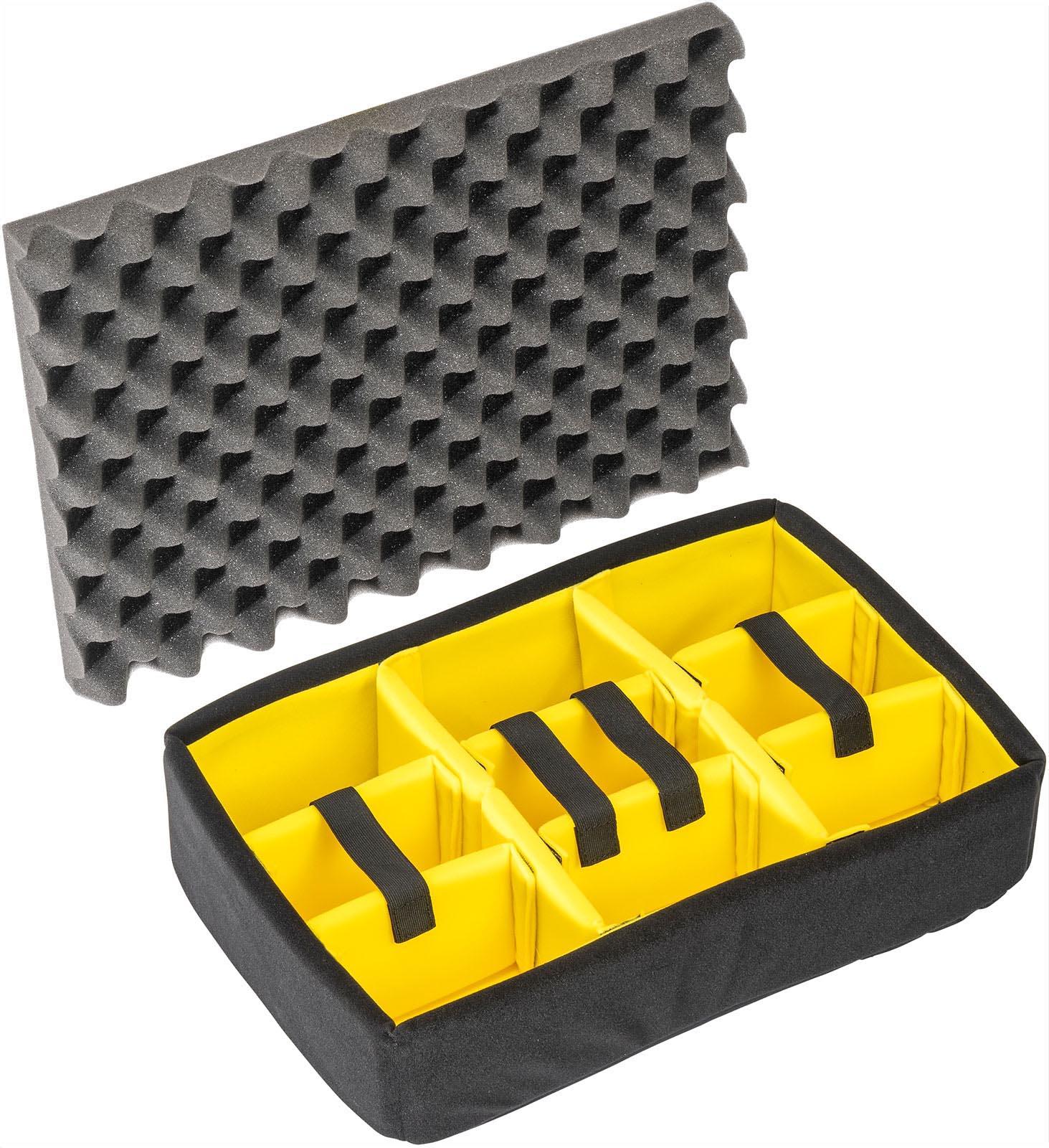 pelican 1509 case padded divider set