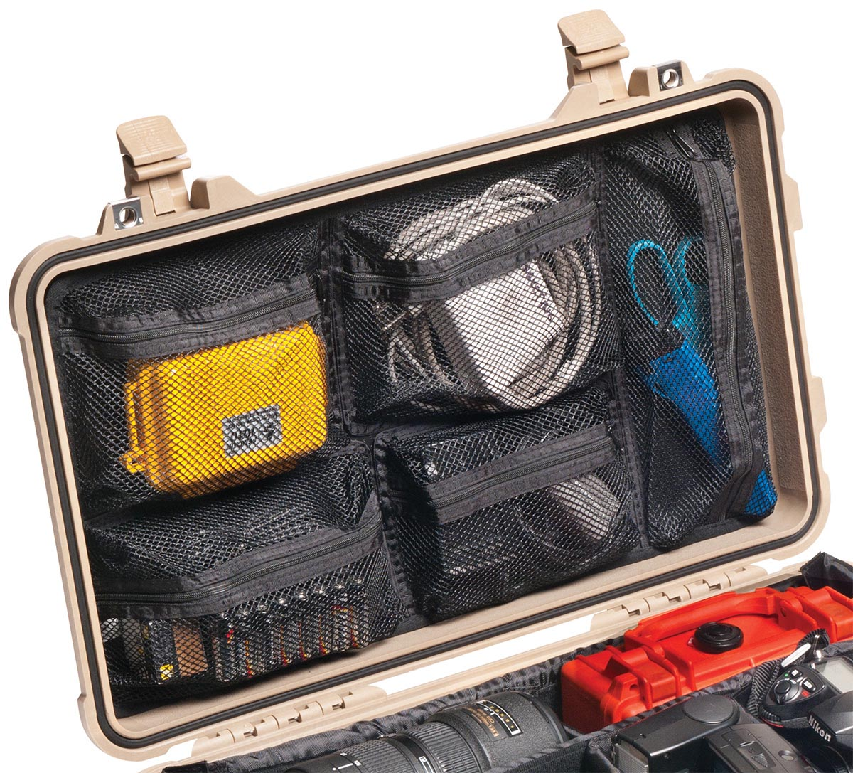 pelican 1519 case photo lid organizer