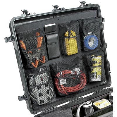 pelican 1699 case lid travel organizer