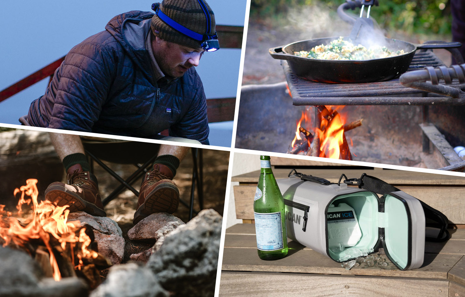 pelican consumer blog cooking on a campfire