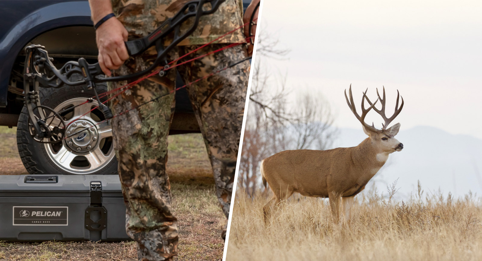 pelican consumer blog cargo case bow deer hunting