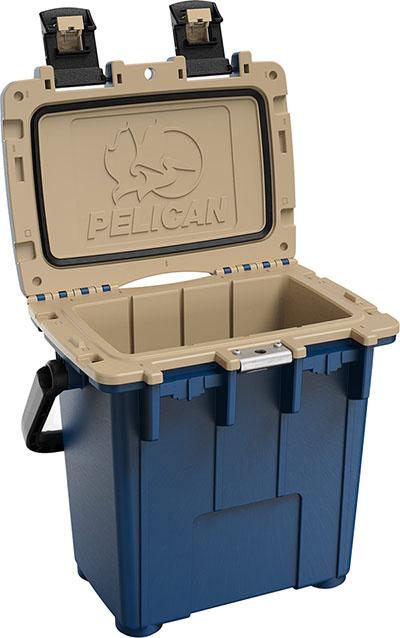 pelican consumer blog 20qt heavy duty cooler blue