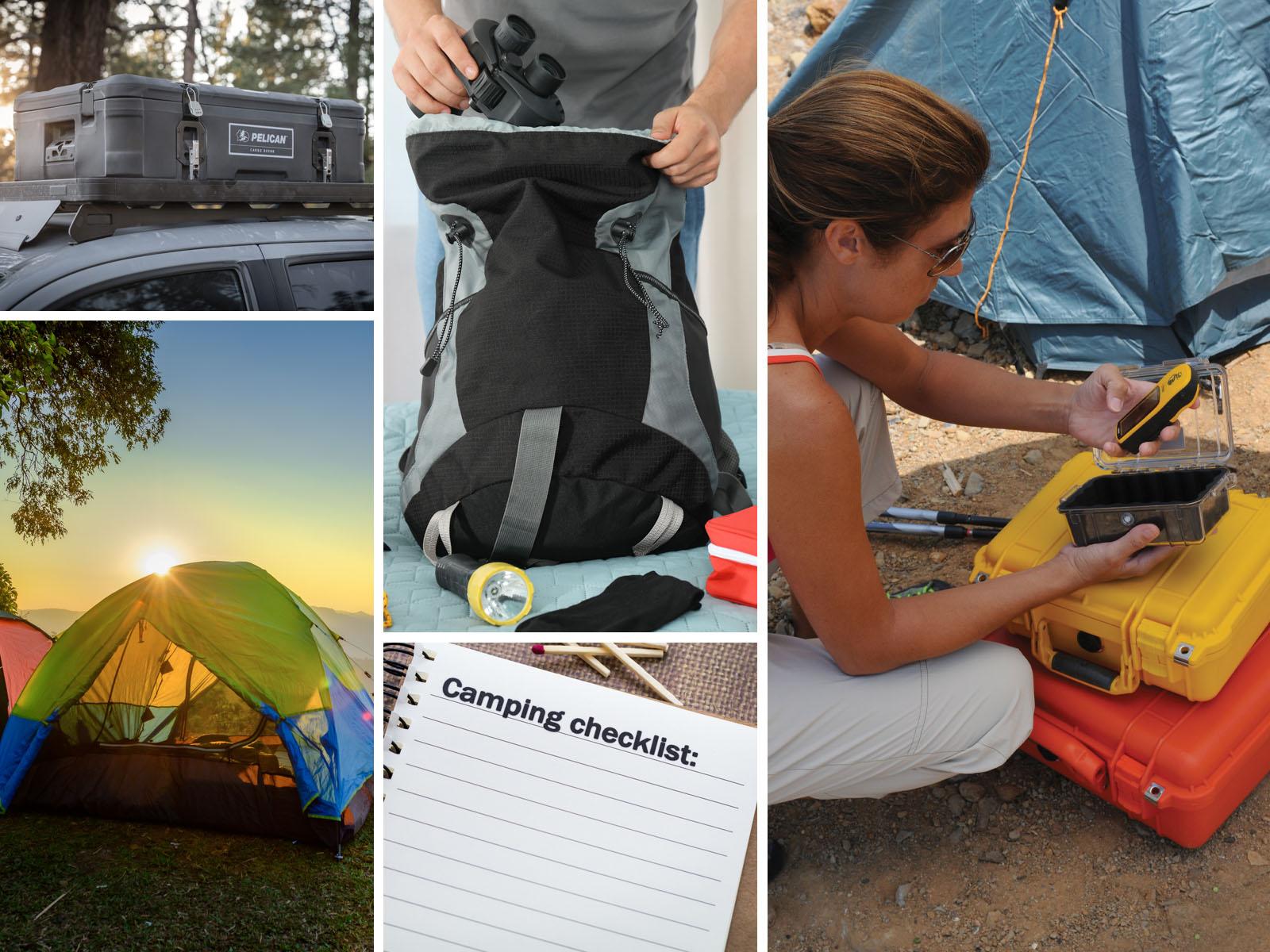 pelican consumer blog camping checklist organization