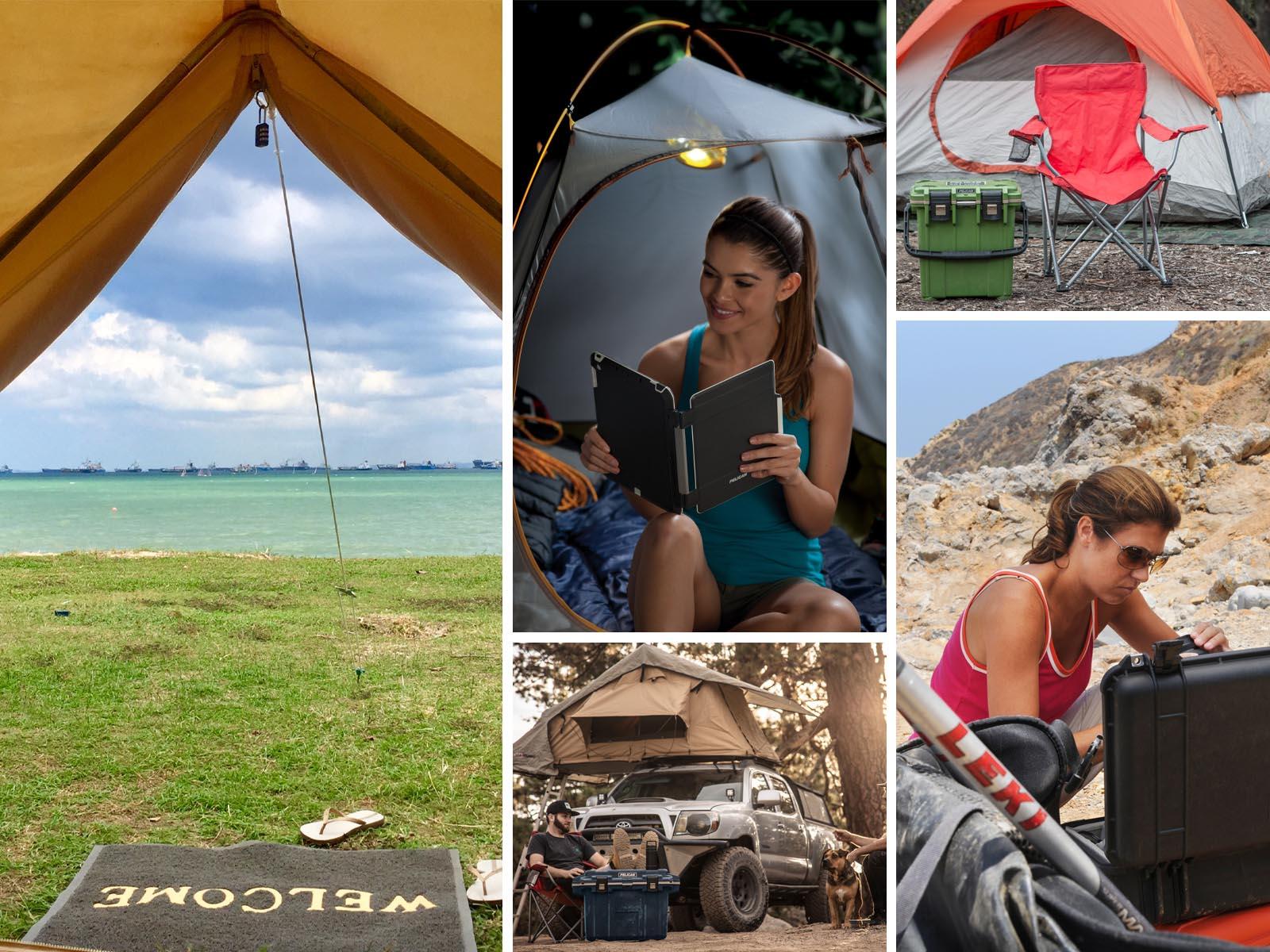 pelican consumer blog establish campsite shelter