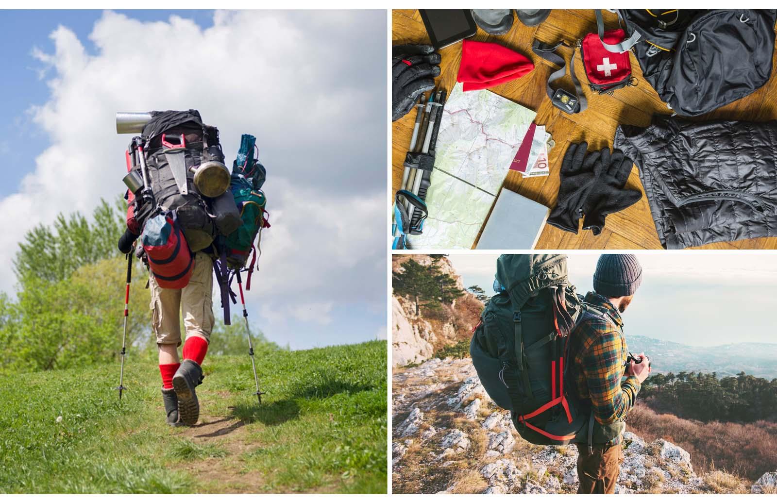 hiking backpack gear