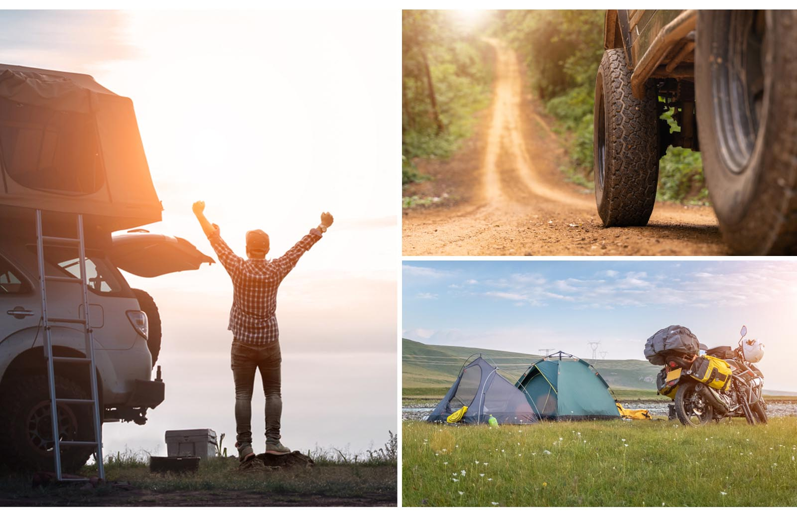 off-roading camping experiences