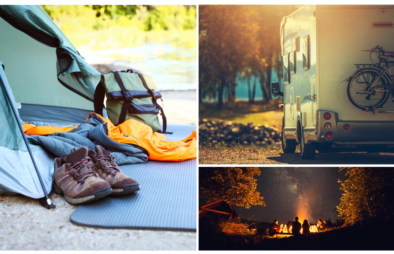 camping can be an affordable option