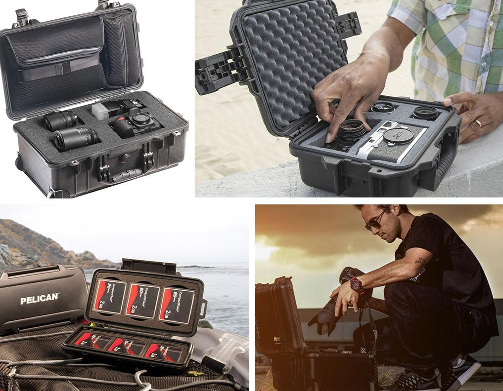 pelican camera cases