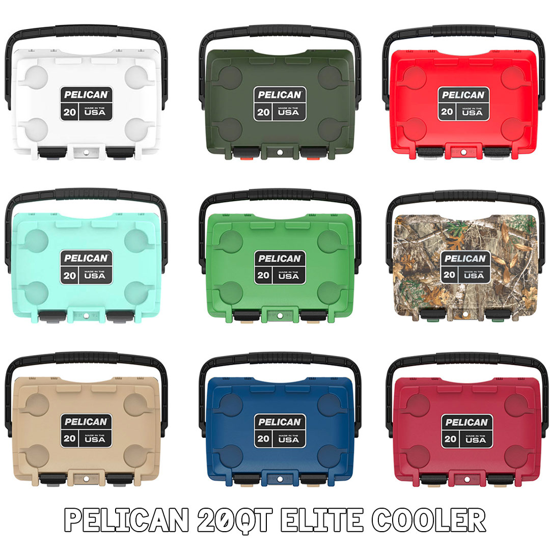 pelican consumer blog 20qt cooler colors
