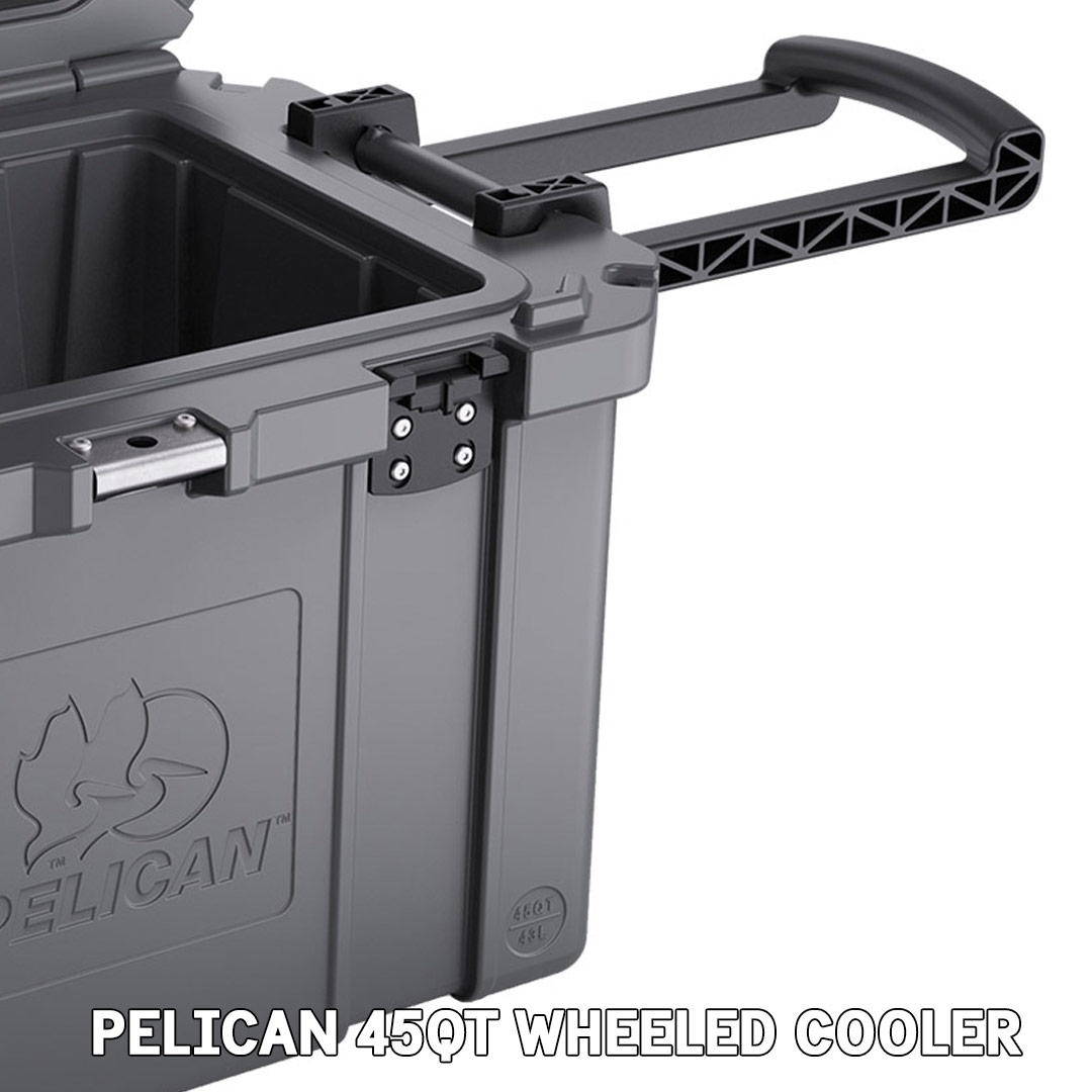 pelican consumer blog 45qt wheeled cooler trolly handle