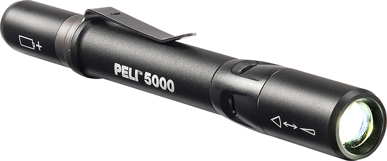 pelican 5000 flood spot beam industrial flashlight
