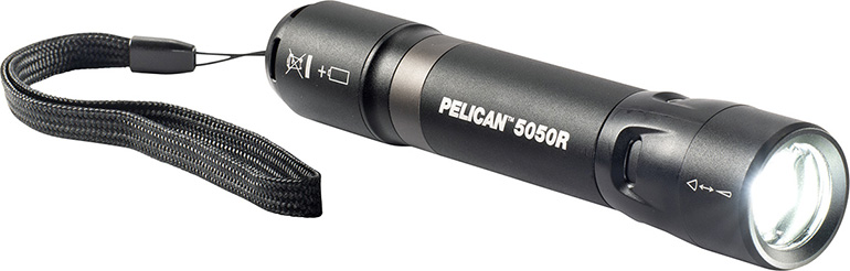 pelican 5050r flood spot beam industrial flashlight