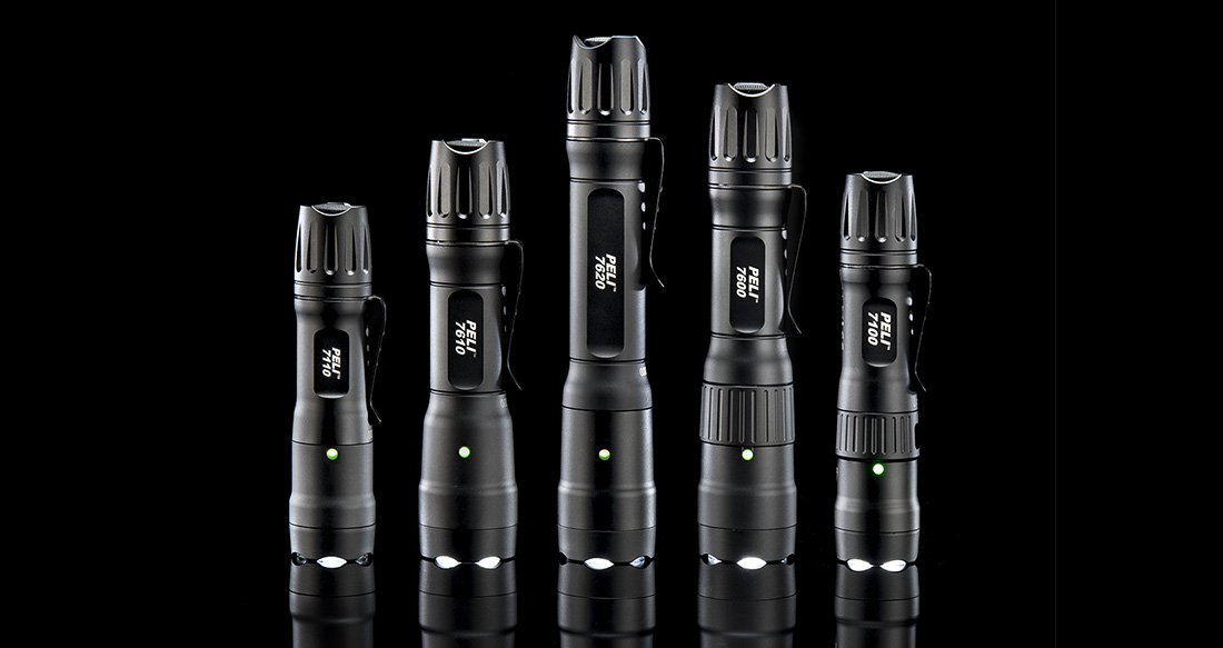peli 7 series tactical flashlights