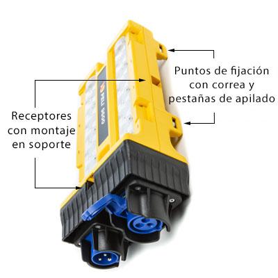 pelican 9600 modular led strap bracket