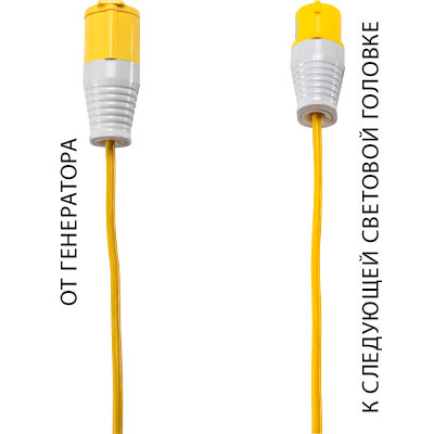 pelican 9600 remote area light power cable