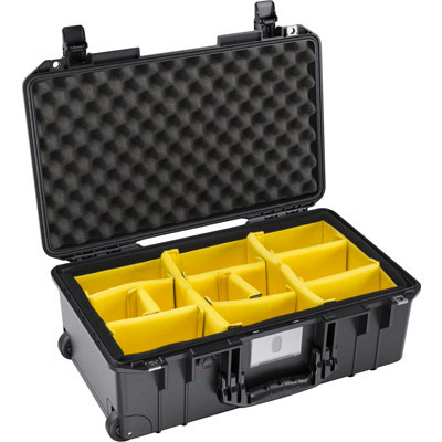 Pelican Air Camera Case photographer organization cases padded dividers