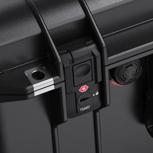 pelican tsa lock pull latch travel case