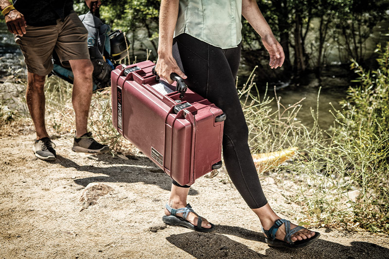 pelican lightweight travel air case